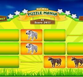 Animal Puzzle Mania