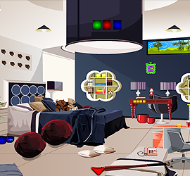 Escape Modern Family Room