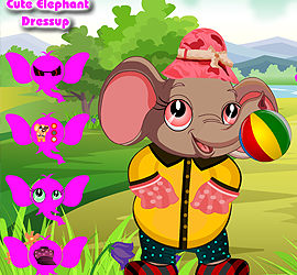 Cute Elephant Dress Up