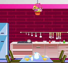 Escape Pink Kitchen