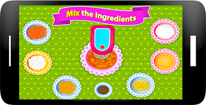 Carrot Cupcakes - Coking Games Screenshot 2