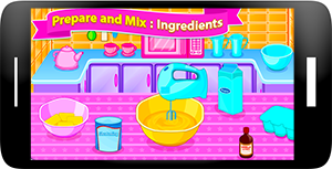 Sweet Cookies - Game for Girls Screenshot 1