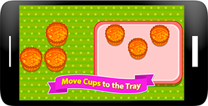 Carrot Cupcakes - Coking Games Screenshot 6