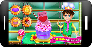 Bake Cupcakes - Cooking Games Screenshot 3