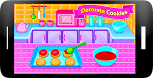 Sweet Cookies - Game for Girls Screenshot 2